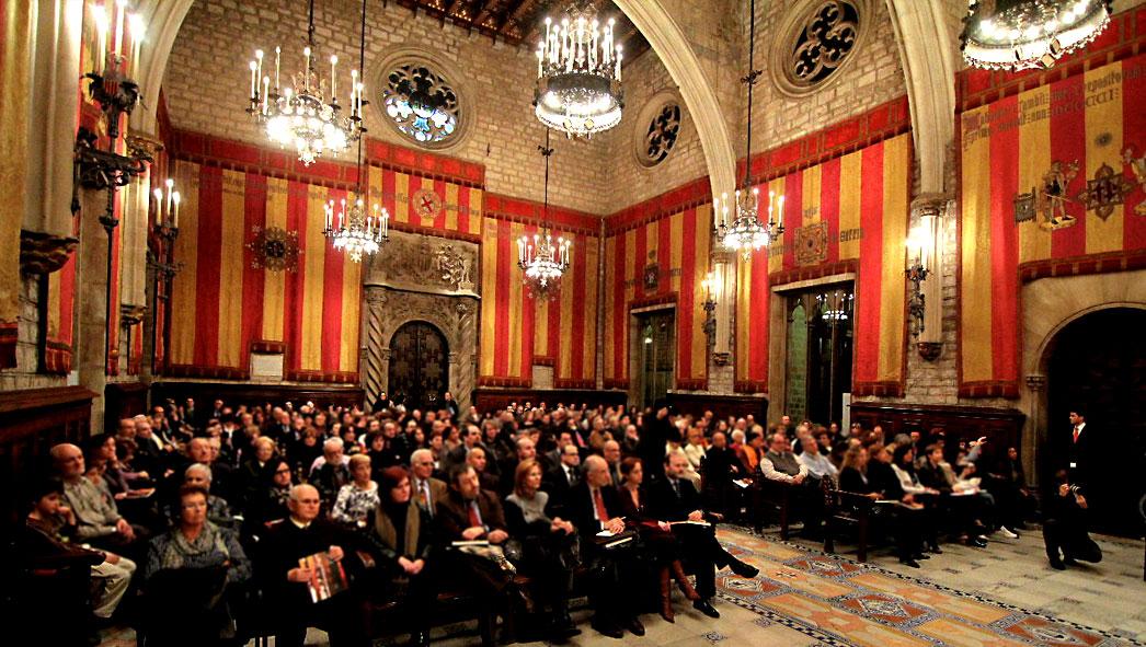 L'Escola Pia Catalunya reb la Medalla d'or de la Ciutat de Barcelona